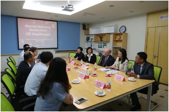 GE医疗集团全球总裁兼首席执行官John Flannery访问上海潍坊社区卫生服务中心